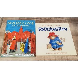 Madeline & Paddington Lot Hardcover Kids